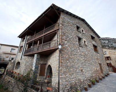 TURISMO VERDE HUESCA. Casa Castillón en Foradada del Toscar