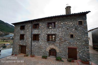 TURISMO VERDE HUESCA. Casa Castillón en Foradada